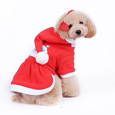 perro disfraz papa noel