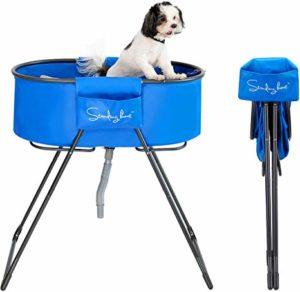 bañera portatil para canes